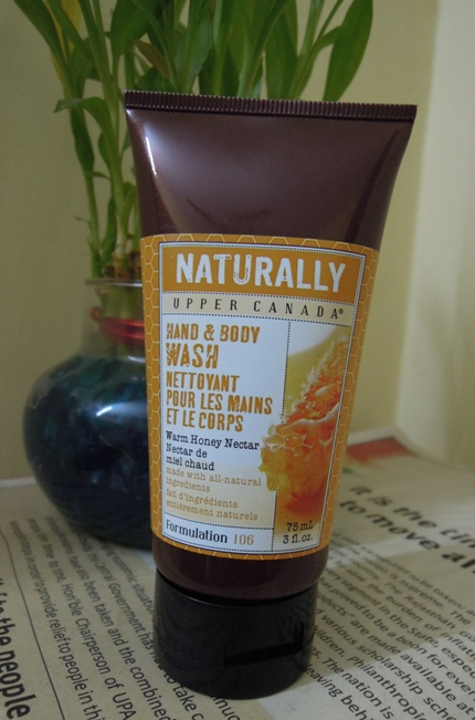Naturally+Upper+Canada+Hand+and+Body+Wash+Warm+Honey+Nectar+Review