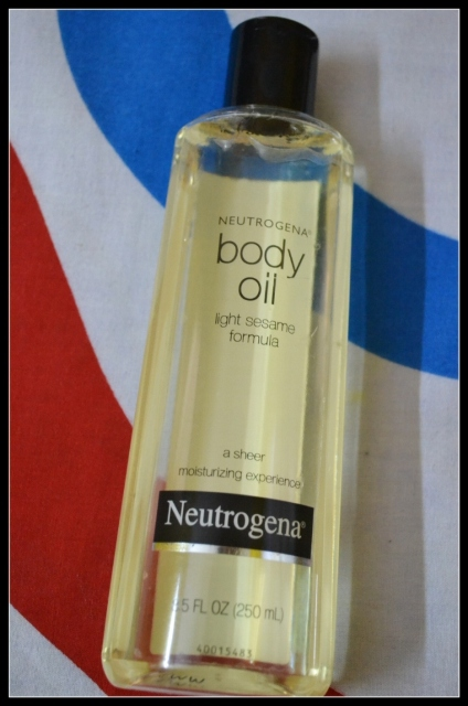 Nuetrogena Body OIl