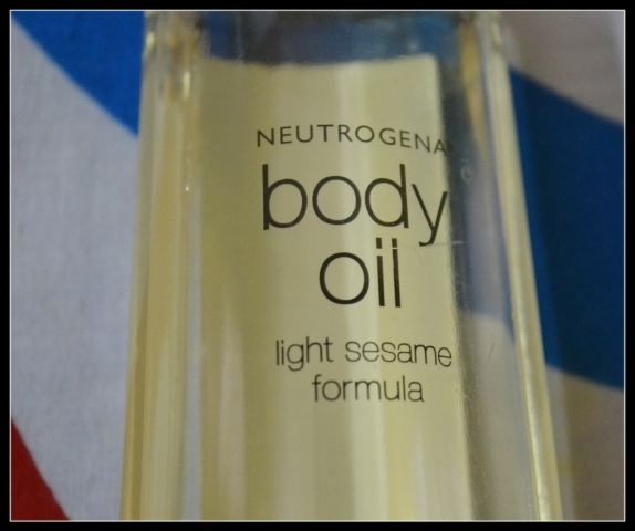 Nuetrogena Body OIl (2)