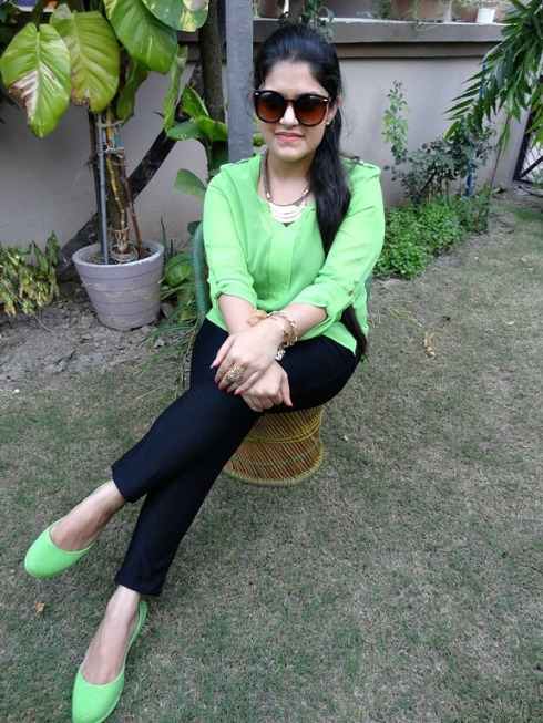 Outfit+of+the+Day+Neon+Green+Trend
