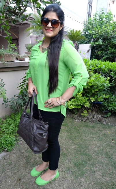 Outfit of the Day  Neon Green Trend 5