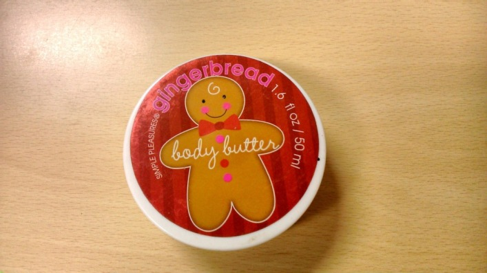 Simple Pleasures Gingerbread Body butter 3