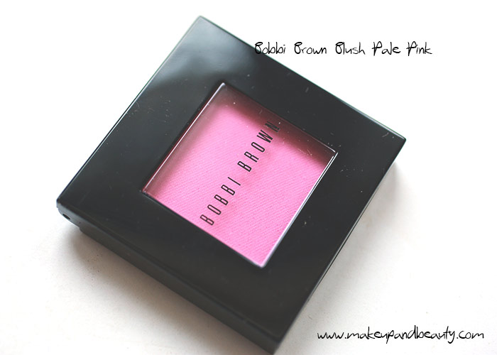 bobbi brown pale pink blush