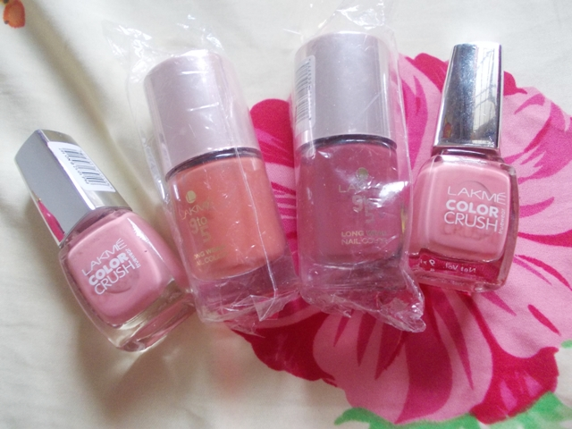 lakme office stylist nail polishes