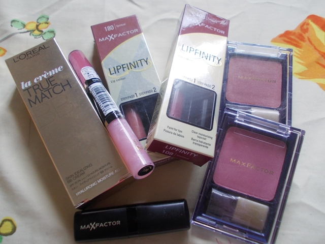 maxfactor haul and Loreal Bb creme