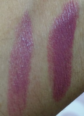 rimmel one of a kind lipstick swatch (1)