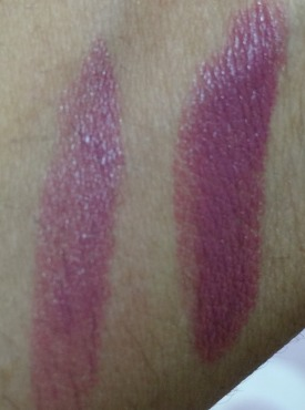 rimmel one of a kind lipstick swatch (2)