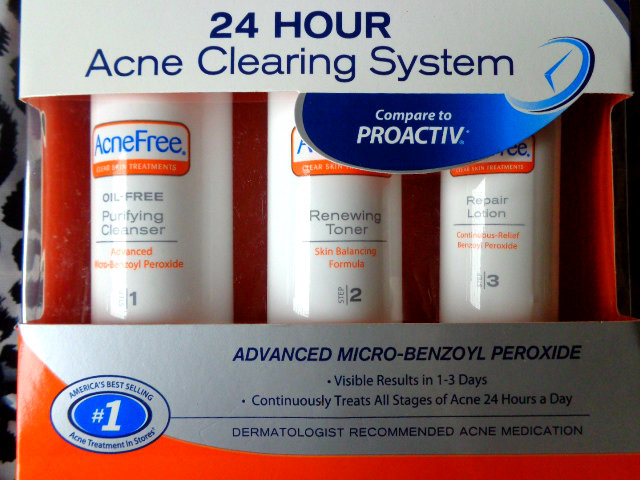 Acne free 24 hour acne clearing system(10)