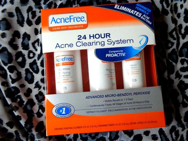 Acne Free 24 Hour Acne Clearing System