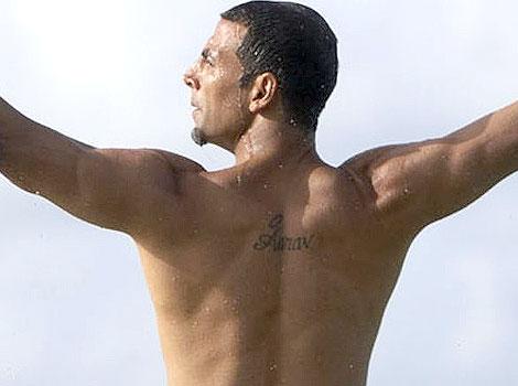 Akshay Kumar tattoo