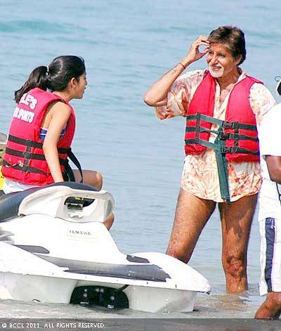 Amitabh Bachchan holiday goa