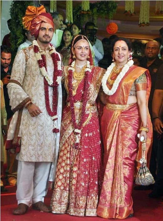 Bollywood+Actresses+on+Their+Wedding+Day
