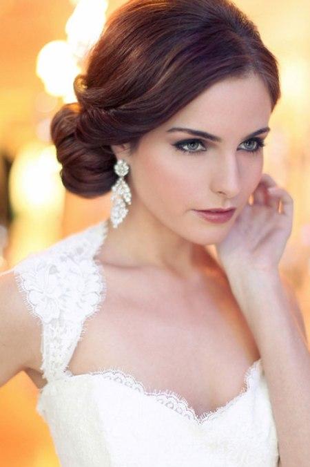 Bridal Hair And Makeup Reviews : 30 Beautiful and Trendy Bridal Hairstyles