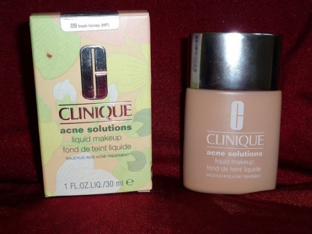 clinique acne solutions foundation