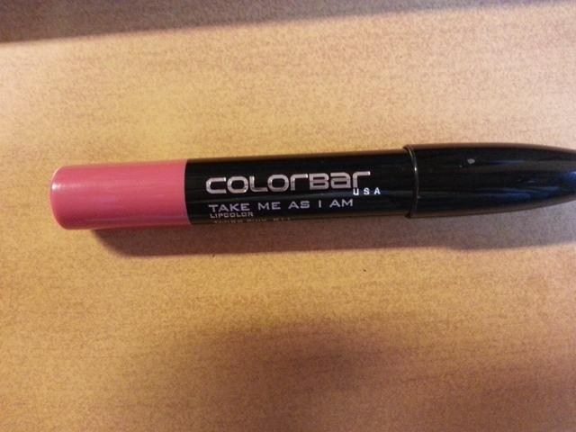 Colorbar Take me As I am LipColor Tango Pink