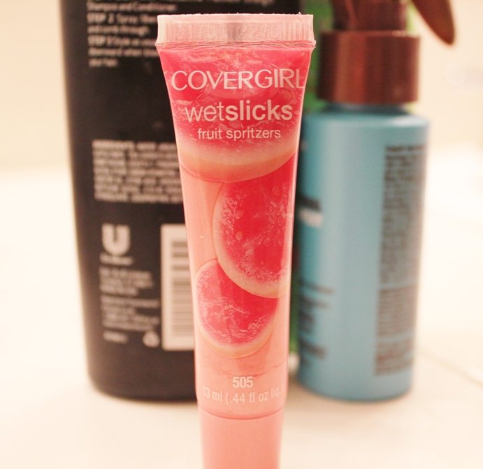CoverGirl Wetslicks Fruit Spritzers – Guava Splash Review