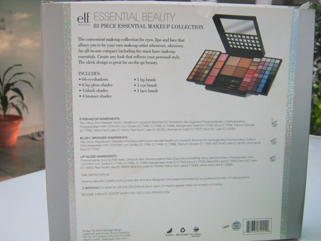 E.L.F. Studio 83 Piece Essential Makeup Collection  (16)