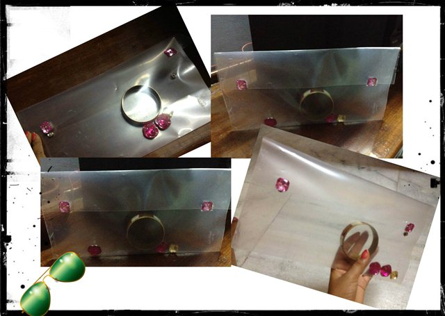 How To Make Clear Envelope Clutch Do It Yourself