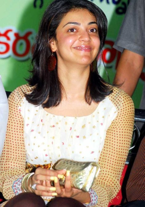 Kajal Agarwal without makeup