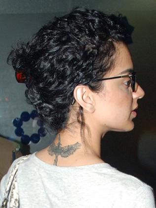 Kangana Ranaut tattoo