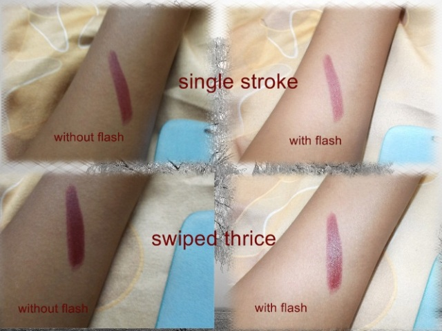Maybelline Superstay 14 hrs Lipstick - Wine and forever swatches (2)