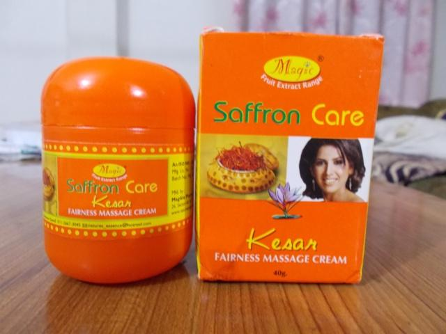 Nature's Essence Saffron Care Kesar Massage Cream