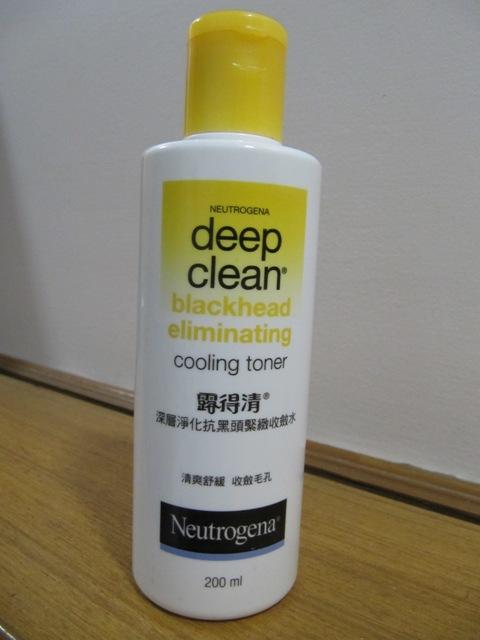 Neutrogena cooling toner