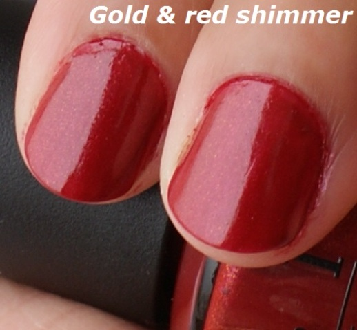 O.P.I. Color To Diner For Nail Polish  5