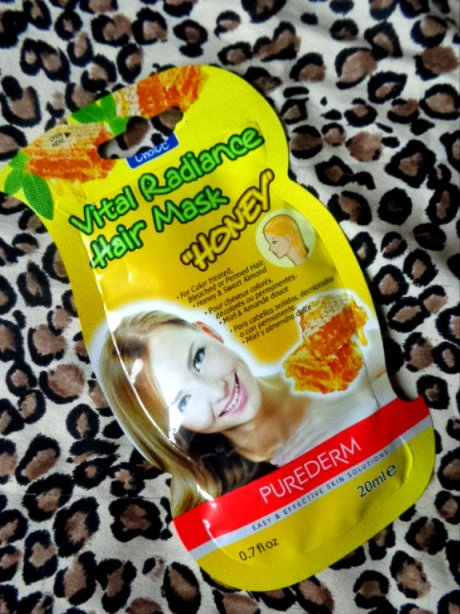 Purederm+Vital+Radiance+Hair+Mask+Honey+Review