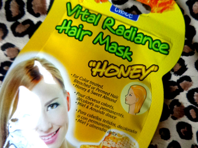 Purederm Vital Radiance Hair Mask – Honey 2