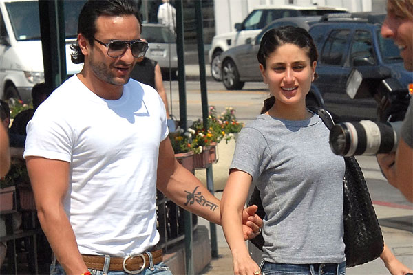 Saif Ali Khan Tattoo