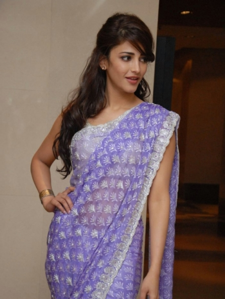 Shruti Hassan in saree