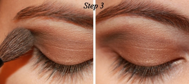 Smoky Brown Eye Makeup Tutorial Step 3