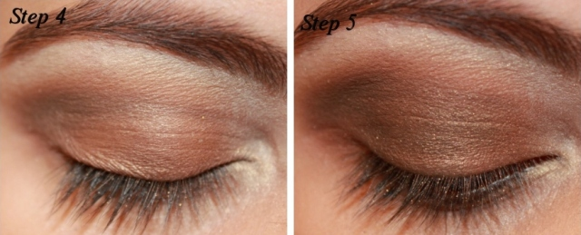Smoky Brown Eye Makeup Tutorial Step 4 - 5