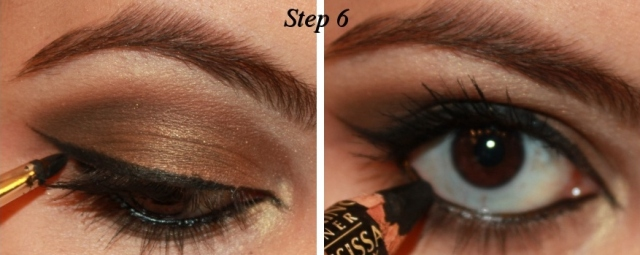 Smoky Brown Eye Makeup Tutorial Step 6