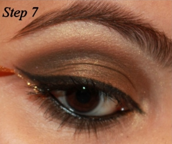 Smoky Brown Eye Makeup Tutorial Step 7