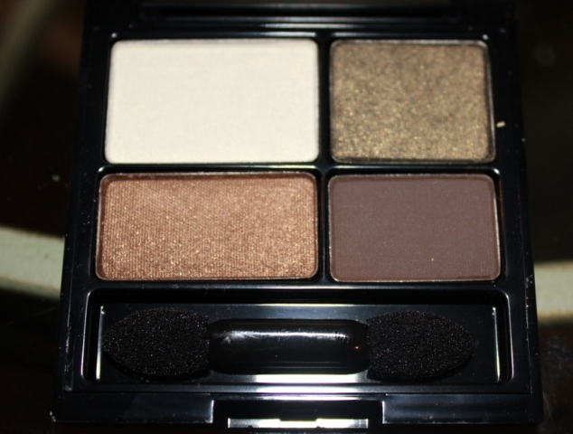 Smoky Brown Eye Makeup quad