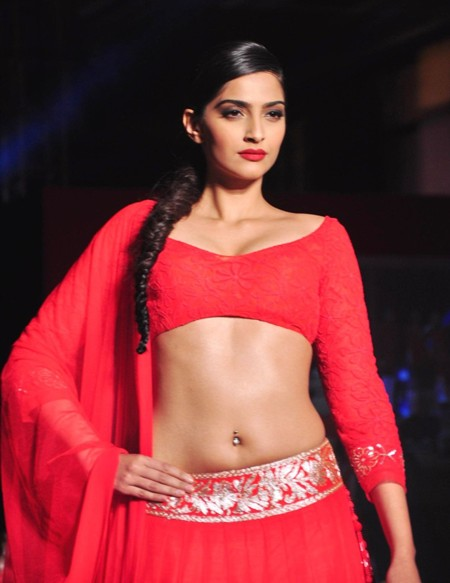 Sonam Kapoor in Red