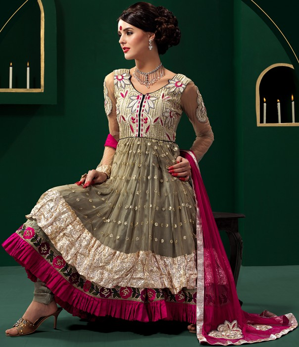 agategray_wedding_anarkali_salwar_suit_with_floralembroidery_skb83