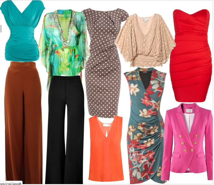 Clothes for hourglass figure 2013