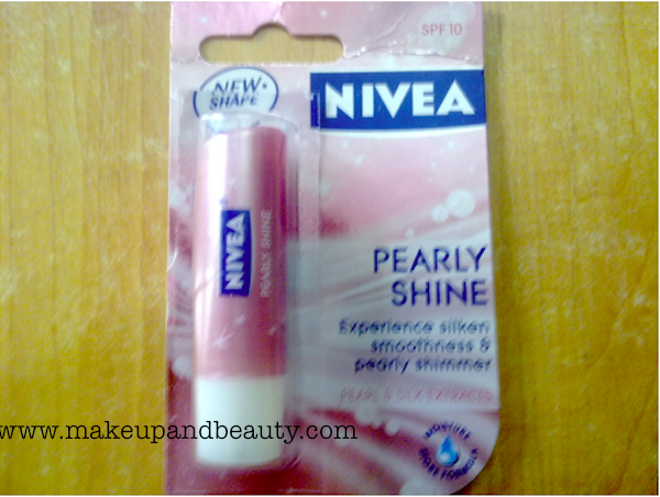 nivea pearly shine balm