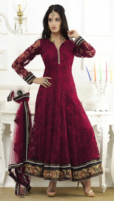 red-full-sleeve-net-long-anarkali-salwar-kameez-15556