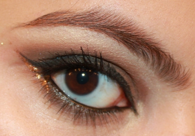 Smoky Brown Eye Makeup