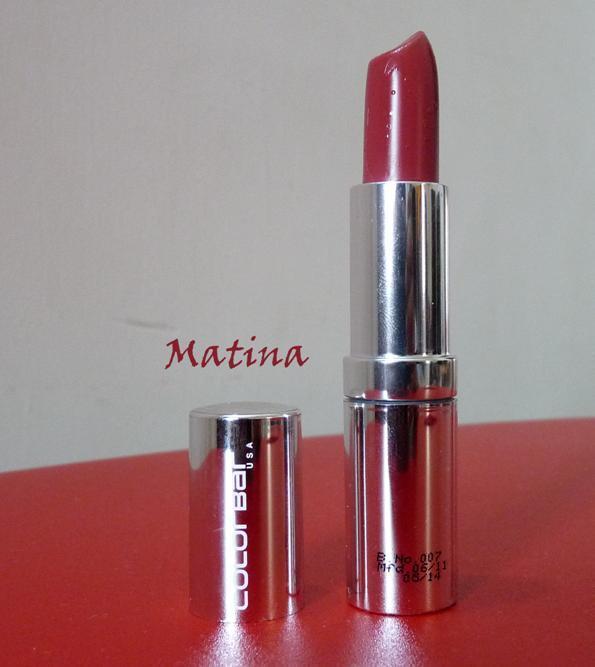 colorbar matina lipstick