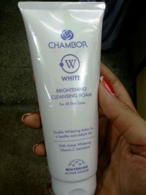 Chambor White Brightening  Cleansing Foam