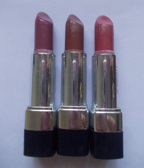 Chambor Silk Touch Lipsticks Silk Trouffle, Silk Pink & Silk Rose (5)