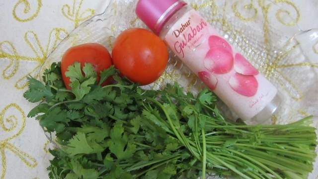 Coriander-Face-Mask-for-Pimple-Scar-Removal-DIY