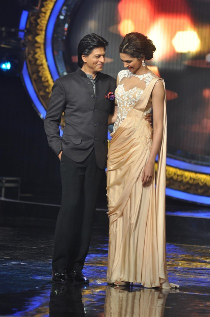 Deepika Padukone and Shahrukh Khan