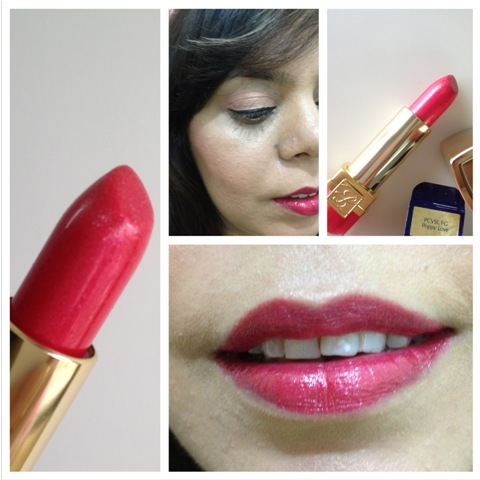 Estee Lauder – Pure Color Vivid Shine Lipstick – Poppy Love (1)