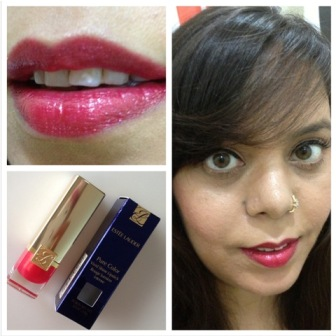 Estee Lauder – Pure Color Vivid Shine Lipstick – Poppy Love (3)